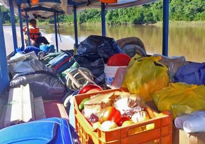 Camping Supplies, Tambopata River Expedition