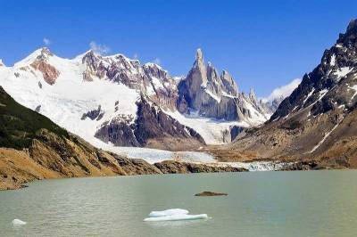 Cerro Torre Peak from Lago Torre, Visit El Chaltén