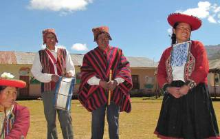 Women and Elders, Chinchero Community Visit