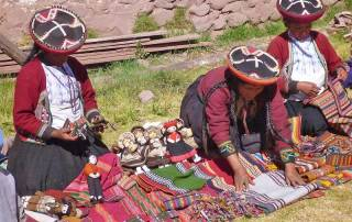 Handicrafts for Tourists, Chinchero Community Visit