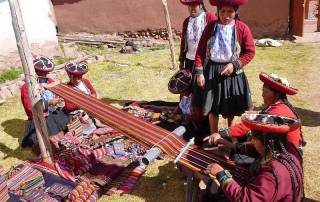 Weaving, Chinchero Community Visit