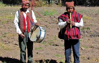 Elders Music Greeting, Chinchero Community Visit