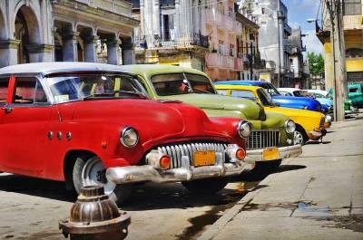 Classic Cars, Havana, Visit Cuba