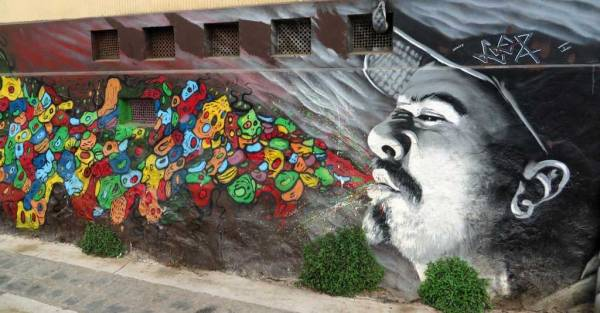 Graffiti, Visit Valparaiso, Chile
