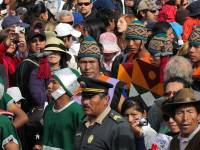 Inti Raymi Festival Crowds and Performers, Cusco