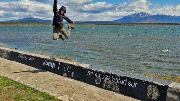 Kathryn, Jump Here, Visit Puerto Natales