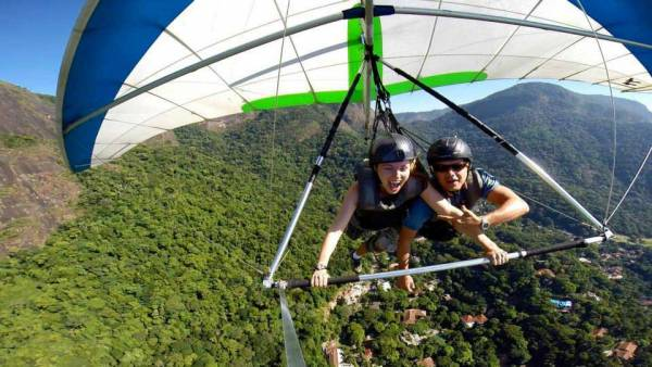 Kathryn takes Control, Just Fly, Hang Gliding Rio