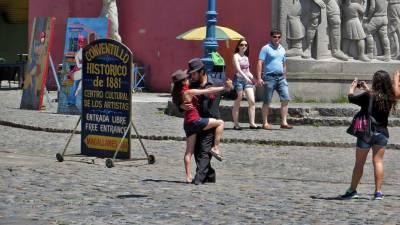 La Boca Tango for Tourist Pics, Visit Buenos Aires