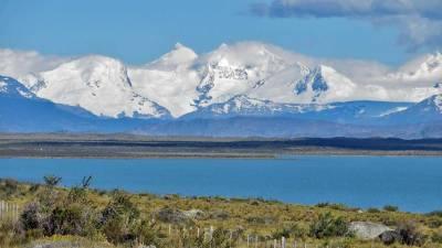 Lago Argentino, Lake Argentina, Andes Foothills, Visit El Calafate
