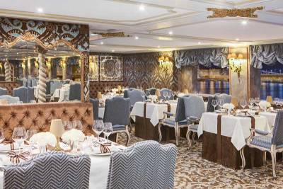 SS Maria Theresa Baroque Restaurant, Uniworld River Cruises