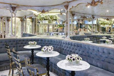 SS Maria Theresa Viennese Cafe, Uniworld River Cruises