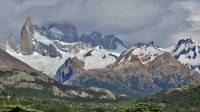 Mount Fitz Roy Obscured in Cloud, Hiking El Chalten