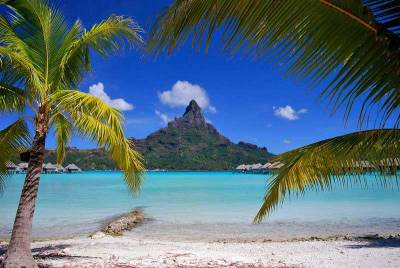 Mt Otemanu from Four Seasons, Visit Bora Bora