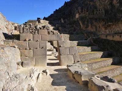 Ollantaytambo Inca Stone Ruins