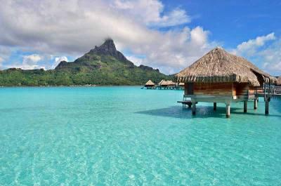 Overwater Bungalow & Mt Otemanu, Visit Bora Bora