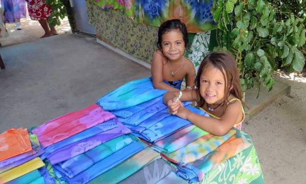 Pareos, Sarongs for Sale, Bora Bora Shore Excursions