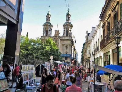 San Telmo Market, Convent of San Francisco, Visit Buenos Aires