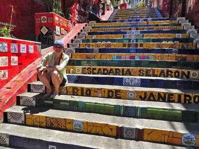 Selaron Steps, Visit Rio de Janeiro