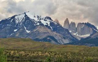 Sundown, G Adventures Camp, Hiking Torres del Paine W Circuit Trek