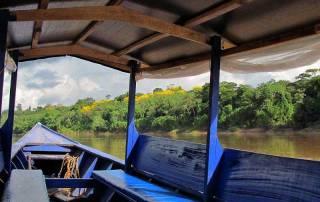 Tambopata River, Wooden Boat