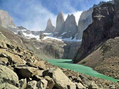 The Towers, Hiking Torres del Paine