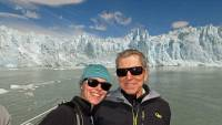 Kathryn, Tim, Boat Cruise, Perito Moreno Glacier Tour