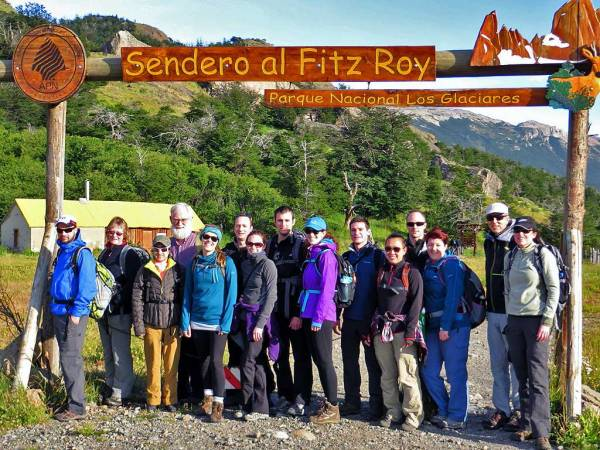 Mount Fitz Roy Group Hike, Hiking El Chalten
