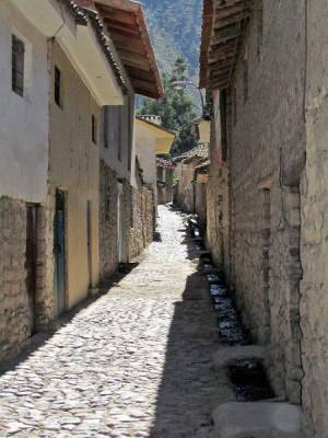 Water Running in the Streets, Ollantaytambo Visit