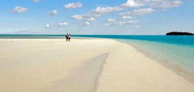White Sands, Visit Aitutaki Lagoon