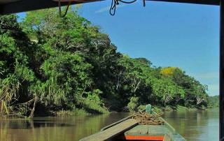 Wooden Boat, Tambopata River Adventure