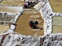Working Maras Salt Mines, Maras Moray Day Trip