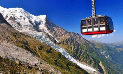 Aiguille du Midi Cable Car, Chamonix Mont-Blanc Visit