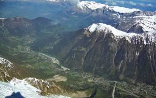 Aiguille du Midi View to Aiguilles Rouges Peaks, Chamonix Mont-Blanc Visit