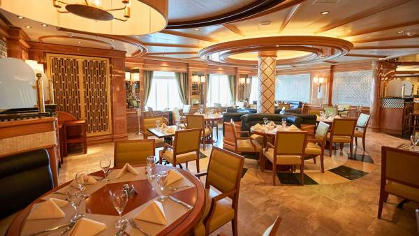 Alfredo's Pizzeria, Princess Cruises