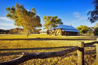 Alice Springs Telegraph Station Historical Reserve, Visit Red Centre