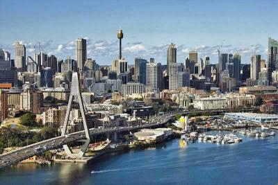Anzac Bridge, Sydney Tower, Visit Sydney, Australia