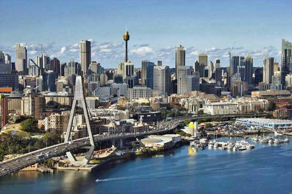 Anzac Bridge, Sydney Tower, Visit Sydney, Australia