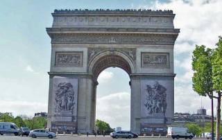 Arc de Triomphe, Paris Visit