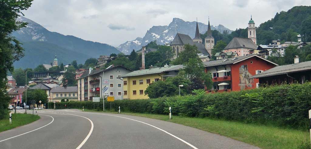 Berchtesgaden, Highway View, Berchtesgaden Visit