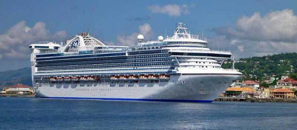Caribbean Princess, Dominica, Princess Cruises