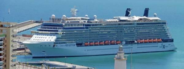 Celebrity Reflection, Malaga, Celebrity Cruises