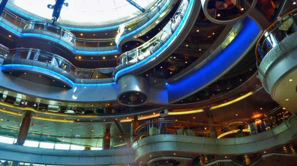 Centrum, Rhapsody of the Seas Tour