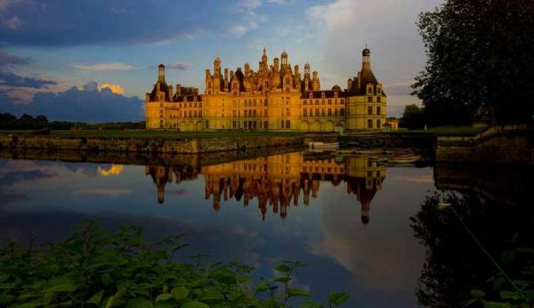 Chambord Castle, Loire Valley, Canal Boating France