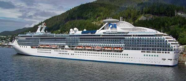 Coral Princess, Ketchikan, Princess Cruises