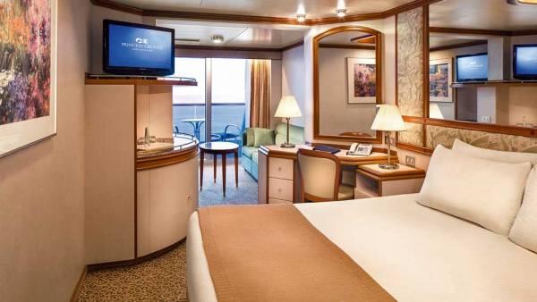 Coral Princess Mini Suite, Princess Cruises, Coral Princess Review