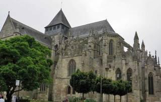 St Sauveur Basilica, Dinan, Mont St-Michel Day Trip