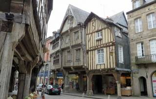 Dinan, Old Town, Mont St-Michel Day Trip