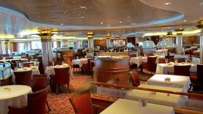 Dining Room, Princess Cruises, Coral Princess Review