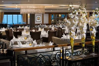 Discoveries, Main Dining, Azamara Club Cruises