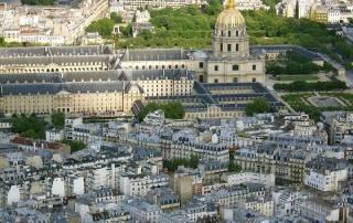 Dom des Invalides, View from Eiffel Tower, Paris Visit